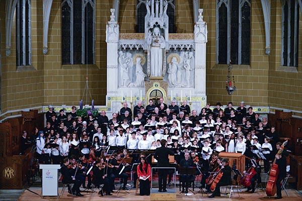 concert in church