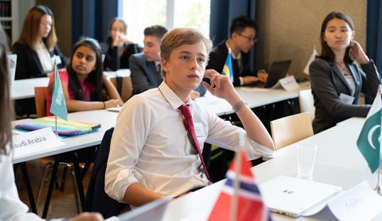 denmark delegate